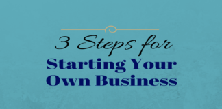 3 easy steps for starting a business