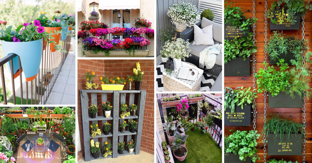 Balcony Gardens Ideas